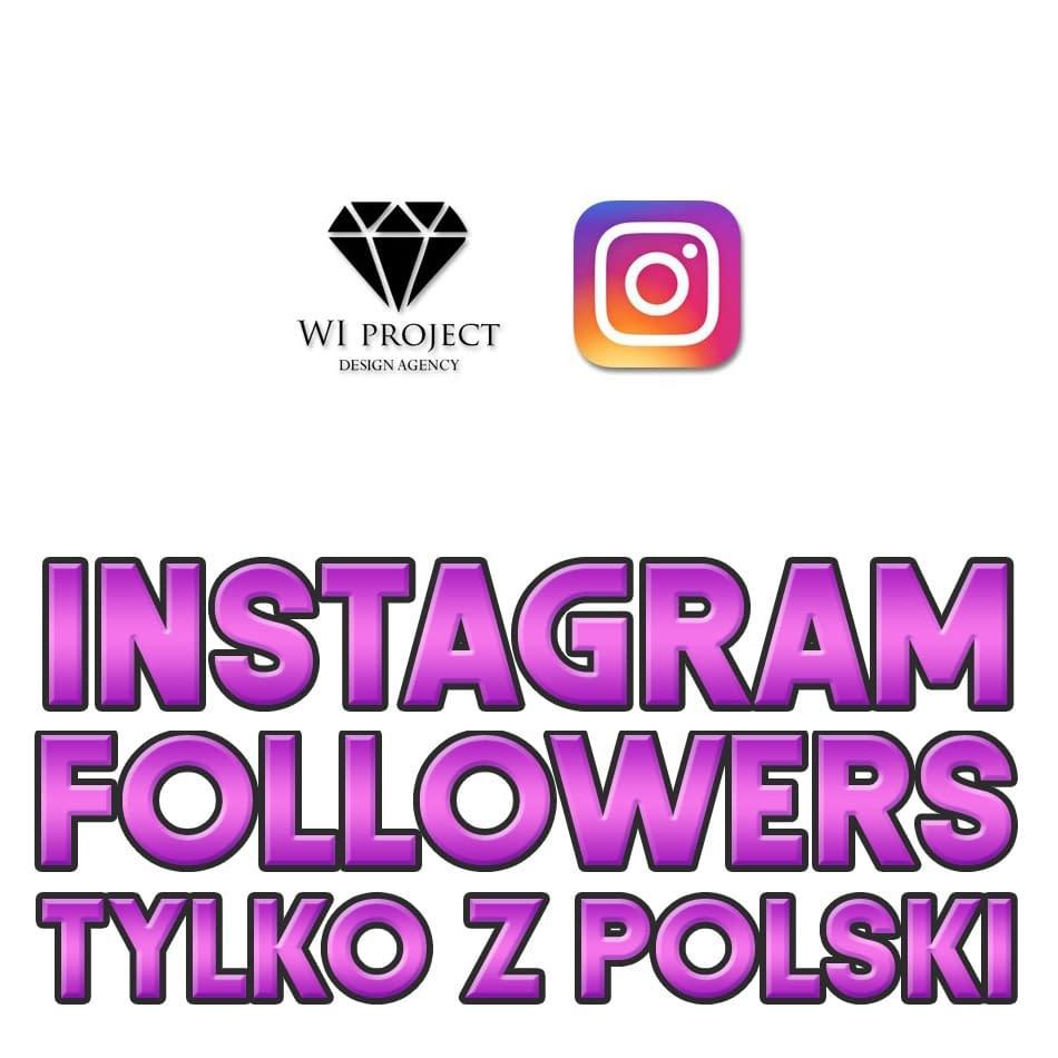 Followers Instagram Tylko Z Polski Sklep Reklamowy